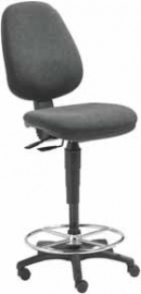 Werkstoel ergonomisch, model pluto techniek