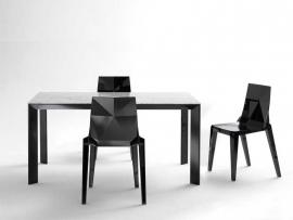 Designstoel kunststof Origami