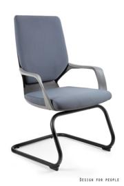 Directie bezoekersstoel Polo M Black( leverbaar in 17 kleuren )