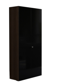 Tweedeurskast hoog model Mito afm 91,6x41,8x207,7cm bxdxh