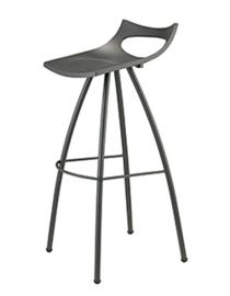 Barstoel barkruk design Diablito  (5 kleuren) zithoogte 65cm