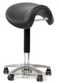 Zadelkruk Vital Pro met groot zadel en voetbediening