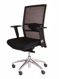 Bureaustoel Aerono  zwart (met netbespanning)