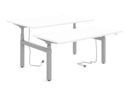 Flexwerkplek ERGOmax Duo 2400  I Zitstabureau Bench Elektrisch 70,5-130 cm