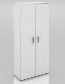 Draaideurkast Wit 197 cm hoog