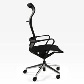 Bureaustoel Luxe Prestige 001 hoge rug volledig netbespanning