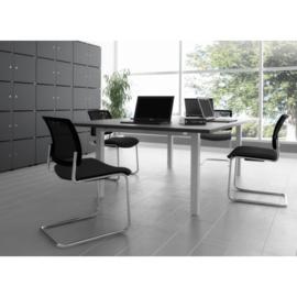 Vergadertafel 220x120cm elektrisch verstelbaar  70-120cm