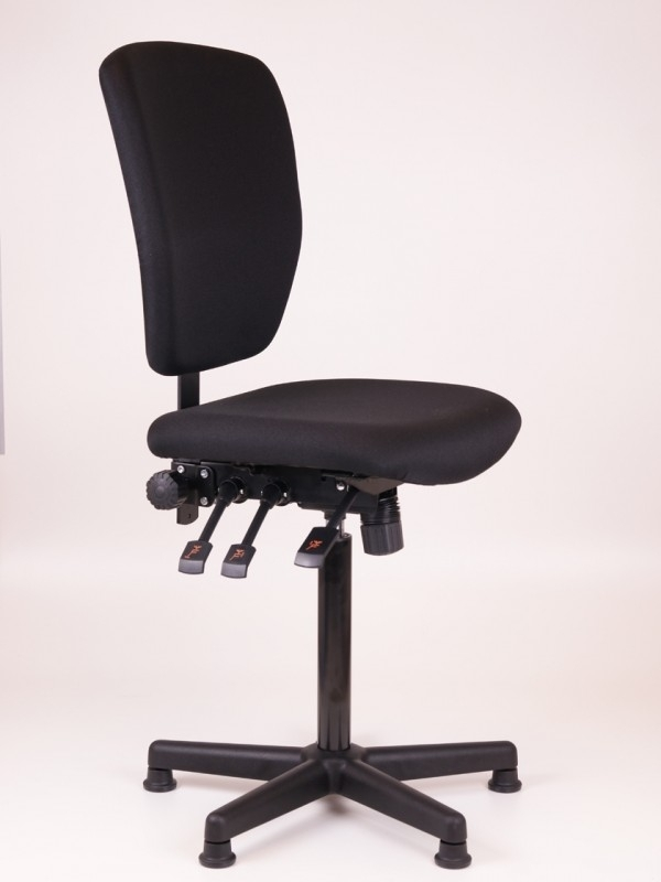 Werkstoel / Kassastoel model 278 Oasis, Nylon