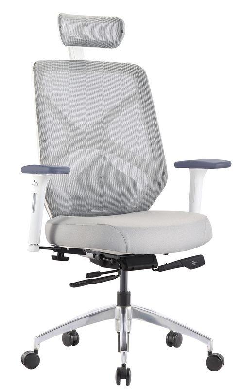 Goede Bureaustoel Voor Rug.Bureaustoel Hero Net Rug Wit Goede Bureaustoel
