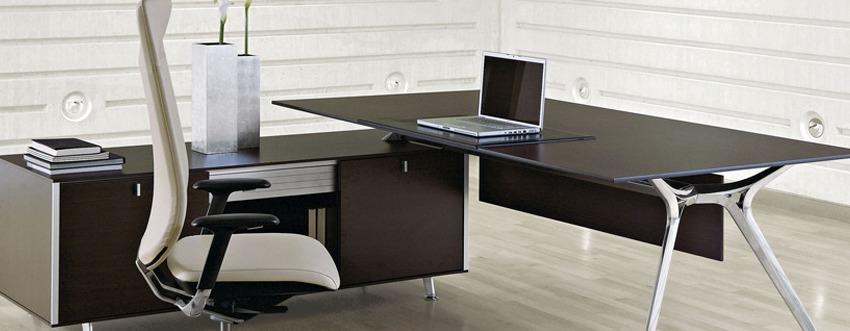 Glazen design bureau tafel Arkitek