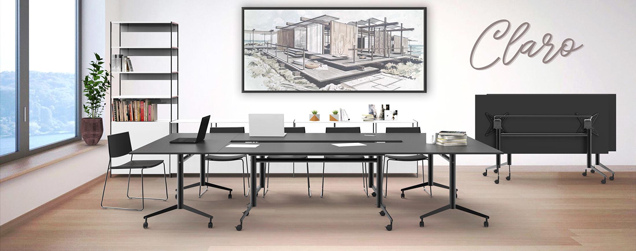 Een stijlvolle klaptafel voor elk multifunctionele ruimte