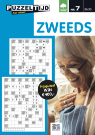 PUZZELTIJD Zweeds puzzelboek