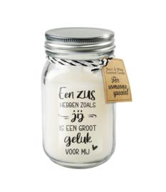 Black & White candle / Zus
