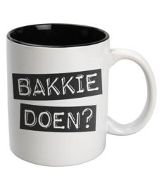 Mok Keramiek White - BAKKIE DOEN