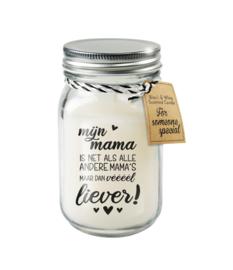 Black & White candle / Mama