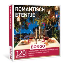 Bongo - Romantisch etentje
