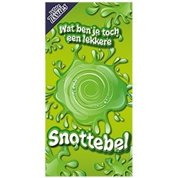 Snotterbel tissue box