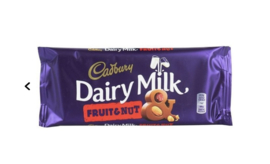 Cadbury Chocolade Reep Fruit & Nut