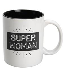 Mok Keramiek White - SUPER WOMEN