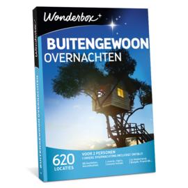 Wonderbox Buitengewoon overnachten