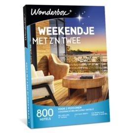 Wonderbox weekendje met z´n twee