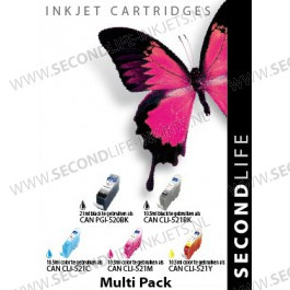 CANON PGI - 520 BLACK / 521 COLOR XL MULTIPACK