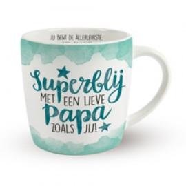 Superblij met een lieve papa zoals jij