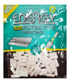 ENERGY FILTER TIPS MENTHOL 100st