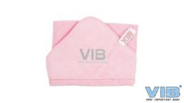 Badcape VIB Roze+Zilver - VIB-HTTP01