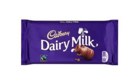 Cadbury Chocolade Reep Dairy Milk