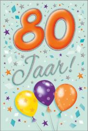 FUNNY AGE 80 JAAR