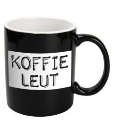 Mok Keramiek Black - KOFFIE LEUT