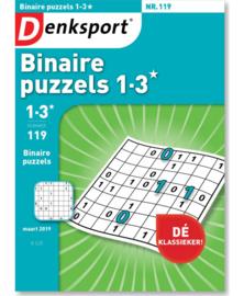 Binaire Puzzel Niveau 1-3