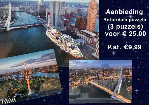 Rotterdam puzzels 9.99 p.st - 3 stuks 25.00