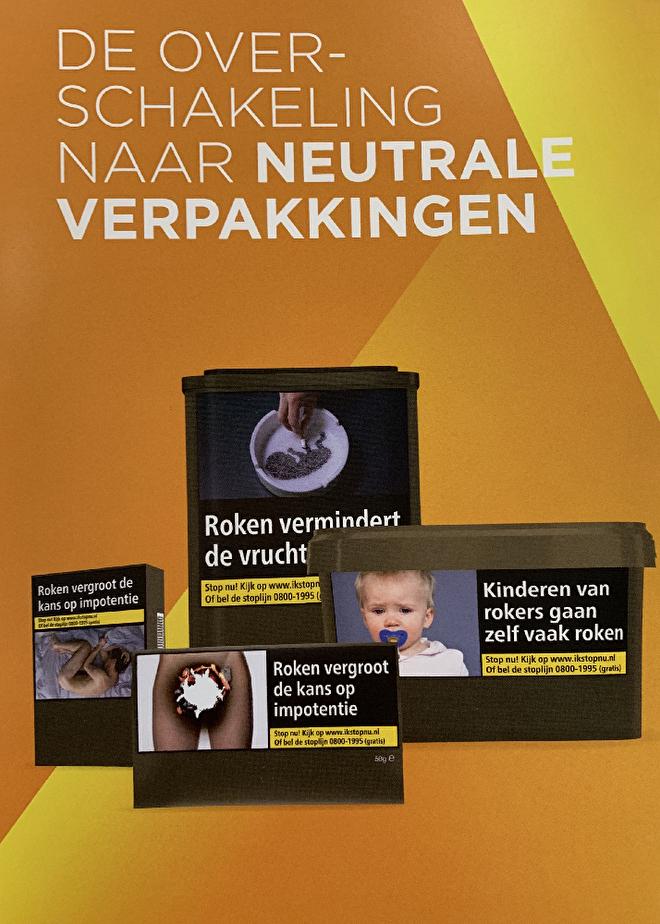 Nieuwe verpakking sigaretten - uitleg