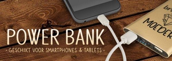 powerbanks telefoon accessoires cadeau