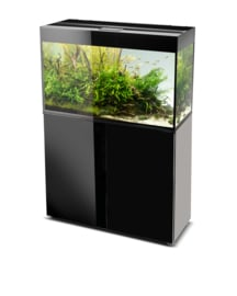 Osaka Glossy aquarium 80 Black + Meubel