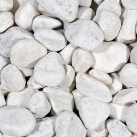 Carrara Stones 4-7cm  2KG  aquarium decoratie stenen