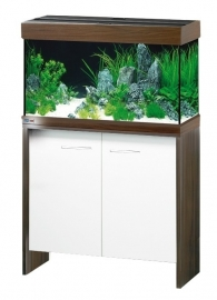 aquarium New York 101x41cm combi Wengé/wit