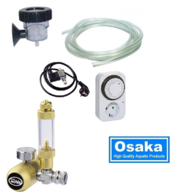 Osaka Hervulbare CO2 set  incl. Magneetventiel  - aquarium CO2 systeem