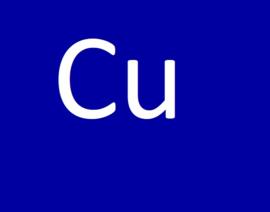 De Cu waarde (koper)
