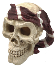 SF Skull Red Pirate aquarium decoratie
