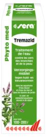 Sera Tremazid tegen huid en kieuwwormen 100ml - voor 1000/2000 liter aquarium