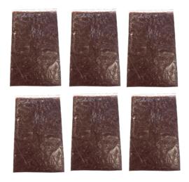 Diepvriesvoeding Daphnia 6x 500 gram plaat