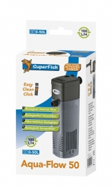 SuperFish Aquaflow 50 aquarium binnenfilter