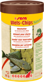 Sera Wels-Chips Nature 1000ml