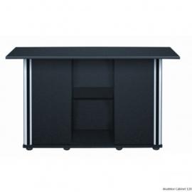 Osaka aquarium meubel met deuren 150cm  zwart