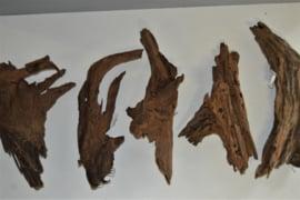 Driftwood / kienhout 47-61cm groot, aquarium decoratie hout