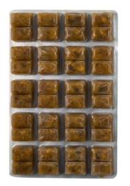 Diepvriesvoeding Mosselvlees  100 gram