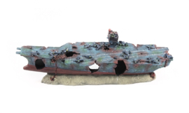 Atlantis Battle ship / aquarium decoratie schip